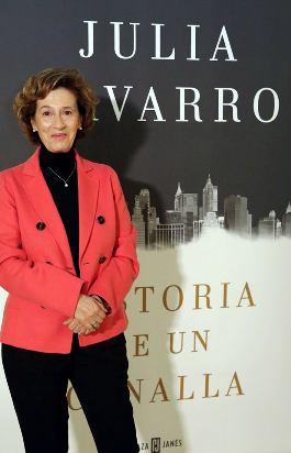 Julia Navarro, con su obra