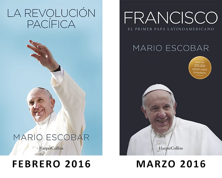 HarperCollins Ibérica publicará dos libros centrados en la figura del papa Francisco