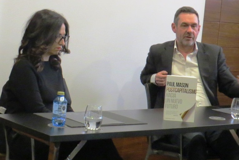 "Presentación del libro ""Postcapitalismo"", de Paul Mason"