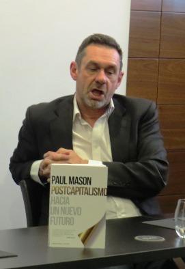 El autor, Paul Mason