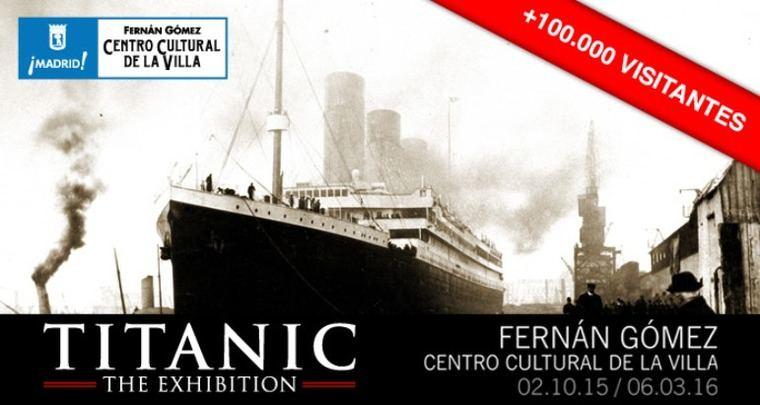 Titanic. 'The exhibition'