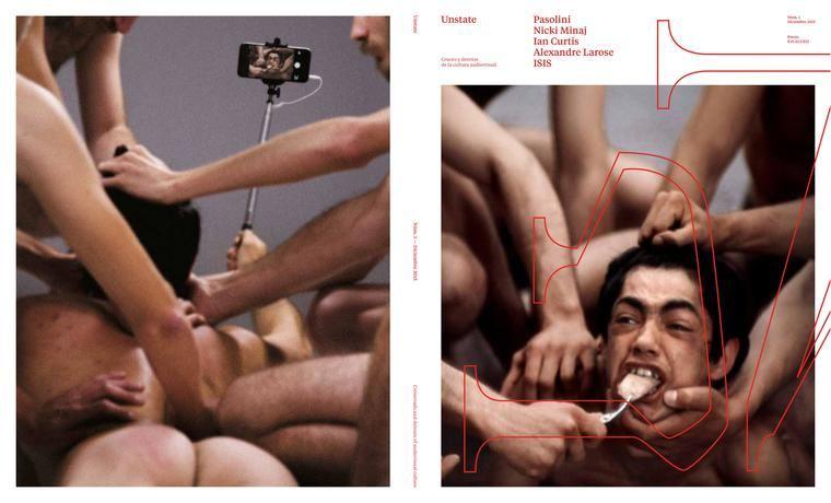 Portada y contraportade Unstate Magazine
