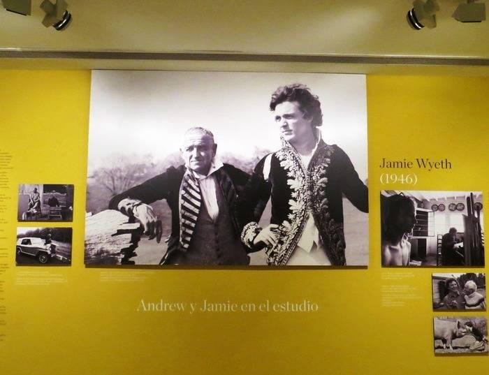 """Exposición: """"Wyeth: Andrew y Jamie en el estudio"""""""
