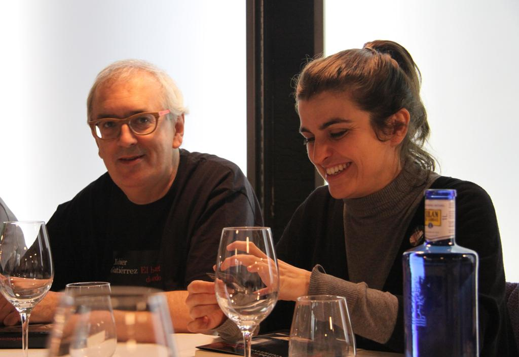 """El cocinero Xabier Gutiérrez presenta en Madrid su segunda novela, """"El bouquet del miedo"""""""