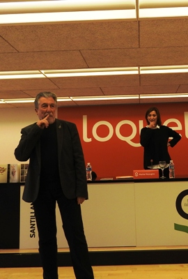 Jordi Sierra i Fabra y Maite Malagón