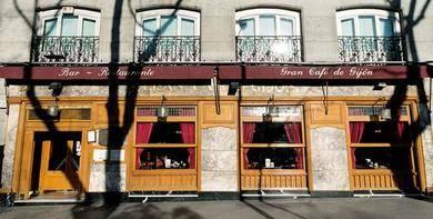 Caf� Gij�n de Madrid, lugar de encuentro de escritores