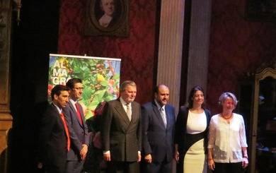 De izquierda a derecha, Daniel Reina, José Manuel Caballero, Íñigo Méndez de Vigo, José Luis Martínez Guijarro, Montserrat Iglesias y Natalia Menéndez