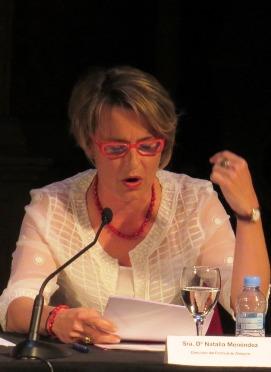 Natalia Menéndez, directora de la Fundación Festival Internacional de Teatro Clásico de Almagro