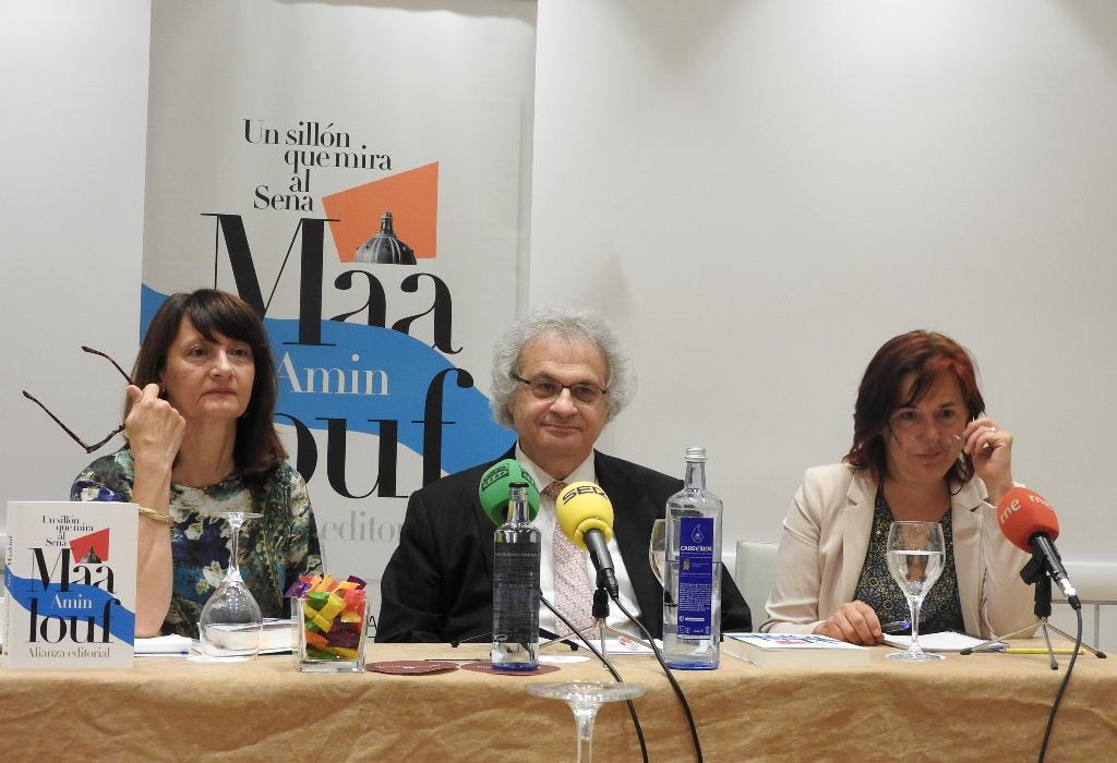 Amin Maalouf visita Madrid para participar en La Feria del Libro y presentar su nuevo libro