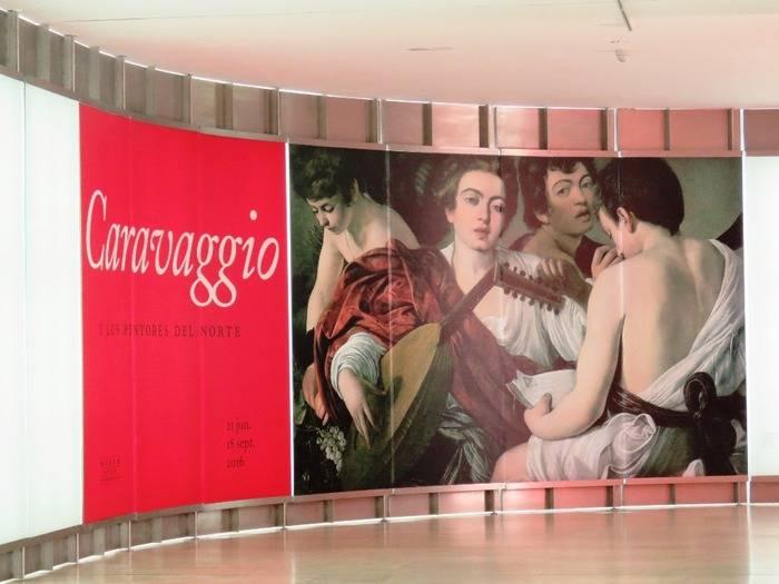 """Exposición:""""Caravaggio y los pintores del norte"""""""