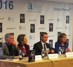 De izquierda a derecha, Juan Ram�n Lucas, Reyes Calder�n, C�sar S�nchez y Bel�n L�pez