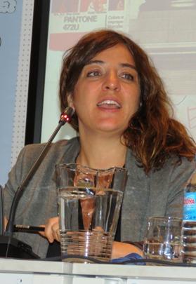 La Delegada del Área de Cultura y Deportes del Ayuntamiento de Madrid, Celia Mayer