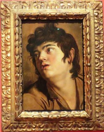Cabeza de joven, 1601- 1602. Peter Paul Rubens