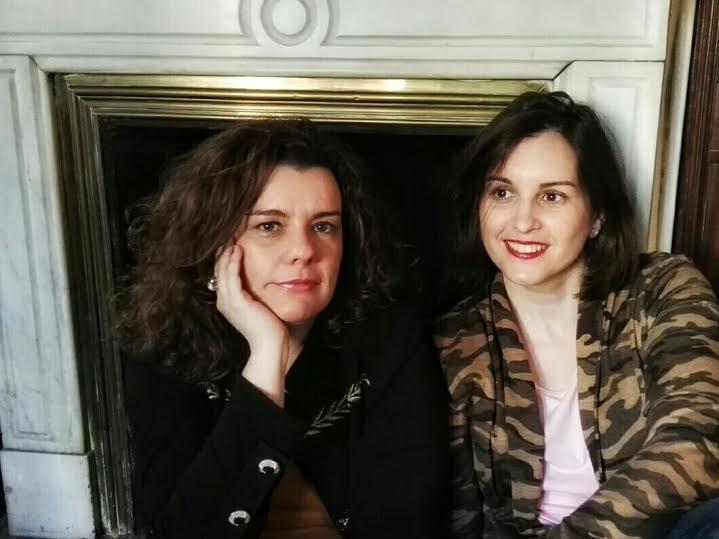 Silvia Plaza-Delmarés y Lidia Herbada