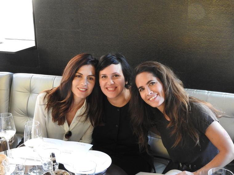 Carmen García Huerta, Irene Claver y Natalia Belda