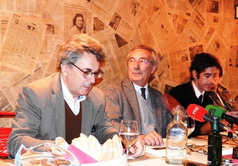 Andrés Trapiello, Jacobo Cortines y Nacho Garmendia