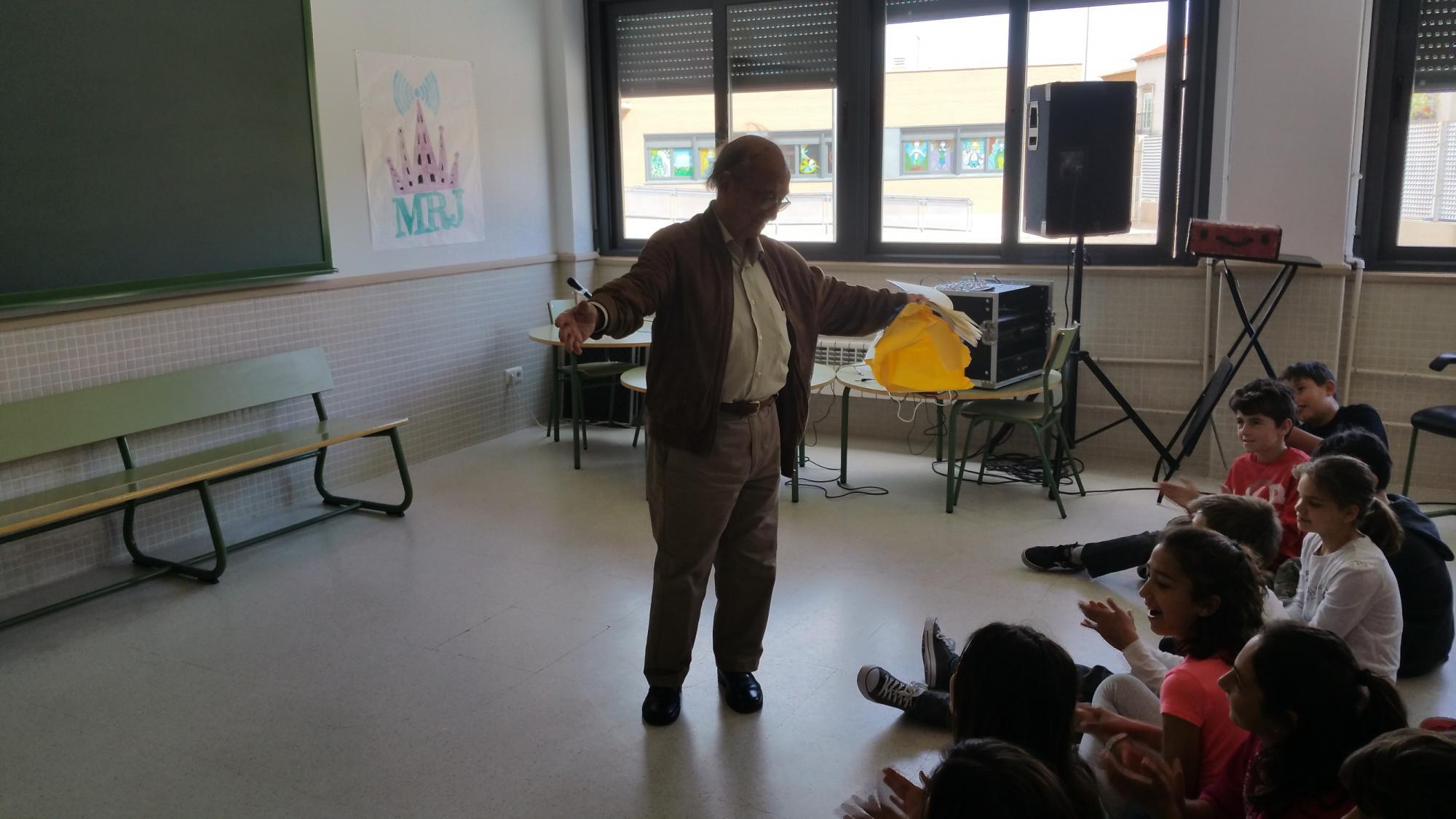 El colegio Jardín de Arena homenajea al gran violinista Yehudi Menuhin en su semana cultura