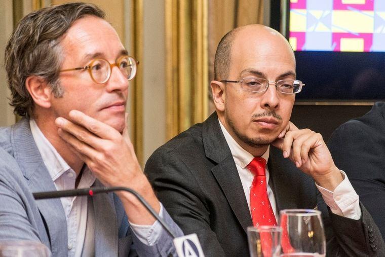 José María Lasalle y Jorge Volpi
