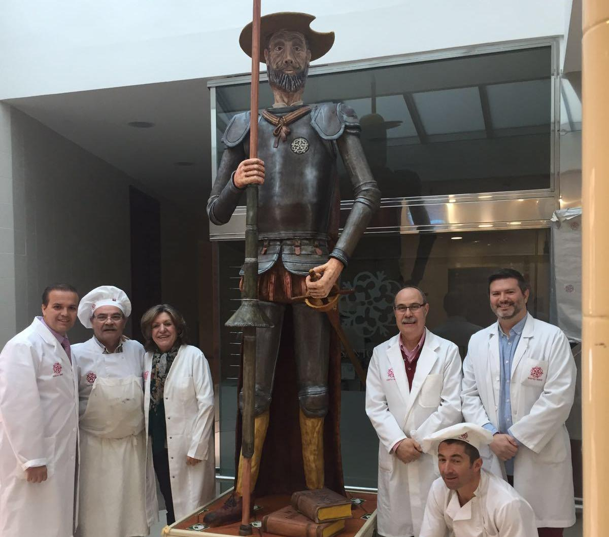 Presentado en Toledo El Quijote de mazapán