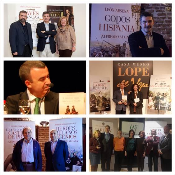 Editorial EDAF y Ámbito Cultural de El Corte Inglés convocan el XIV Premio Algaba 2016