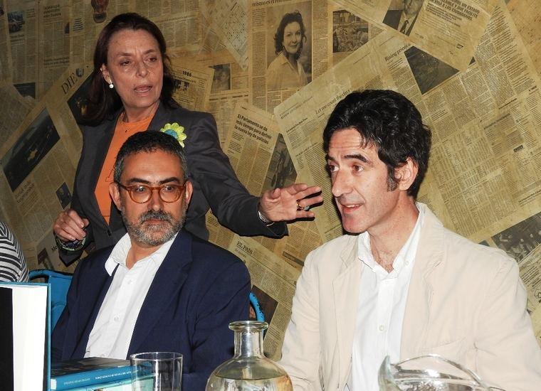 Ana Gavín, Antonio Rivero Taravillo e Ignacio Garmendia