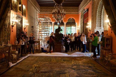 'Mercurio enamorado de Herse' y 'La coronación de Espinas' completan la rica colección artística de Las Dueñas