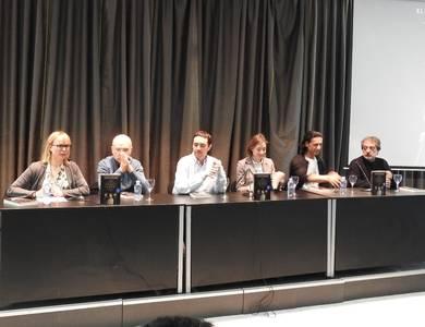 Emilia Lope, Nicol�s Romero, Javier Pascual, Ana�s Schaaff, Nacho Fresneda y Javier Olivares