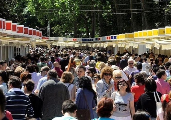 La 75ª edición de la Feria del Libro logra un incremento del 3,5 por ciento respecto a las cifras del año pasado