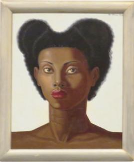 Cabeza de mujer negra, 1946. Maruja Mallo
