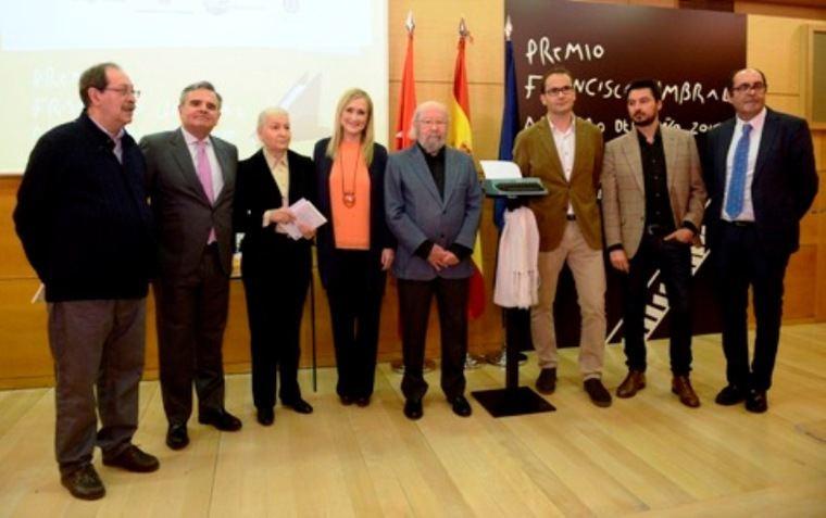 Entrega del Premio Francisco Umbral al libro del año