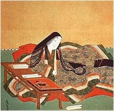 Murasaki Shikibu, por Tosa Mitsuoki