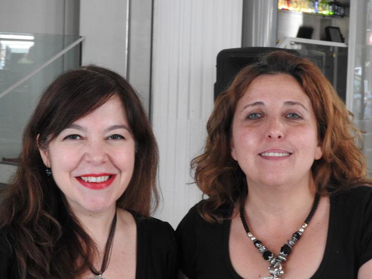 María Cereijo y Ana Alejandro (Amy Lab)