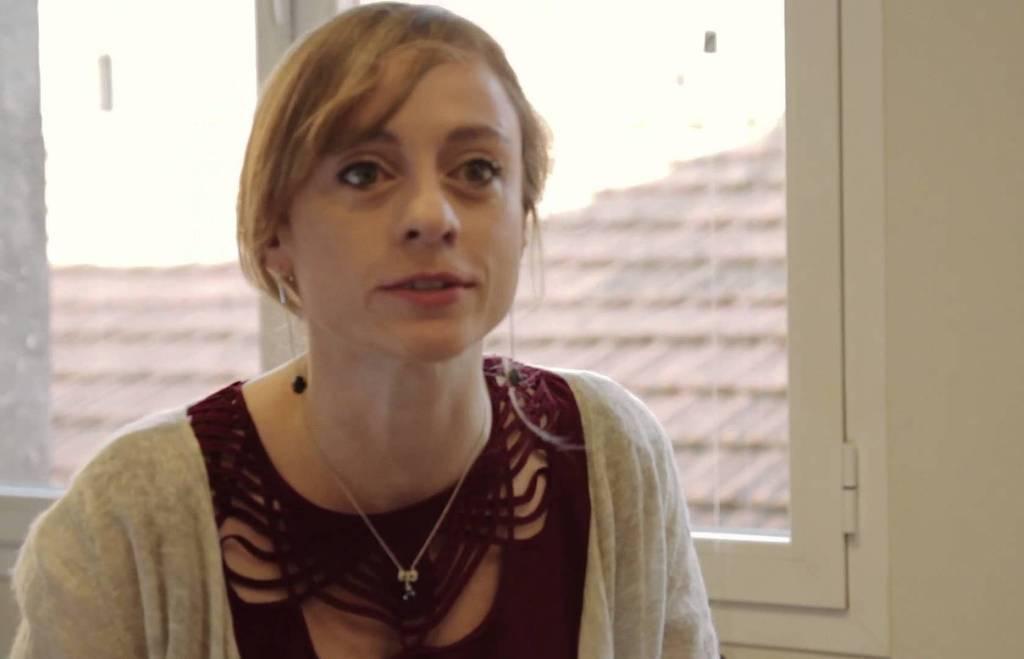 La escritora y guionista Ángela Armero, ganadora del Premio Jaén de Narrativa Juvenil 2016