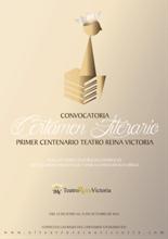 I Certamen Literario Teatro Reina Victoria