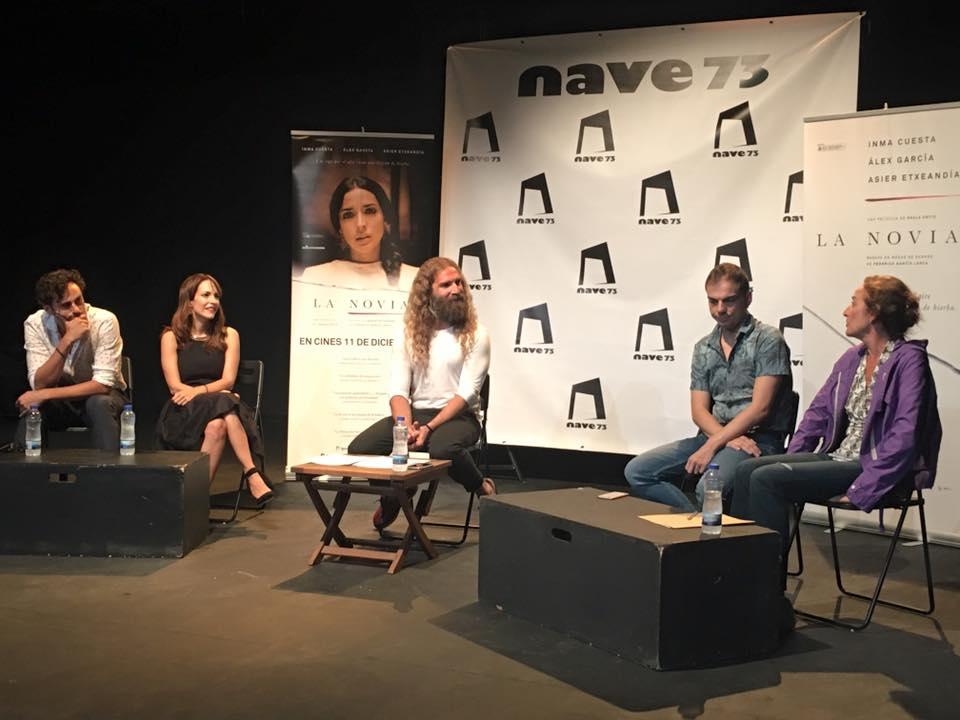 """El equipo de """"La Novia"""" capitaneados por Paula Ortiz y, el mundo del teatro desbordan Nave 73 en el Homenaje a Lorca"""