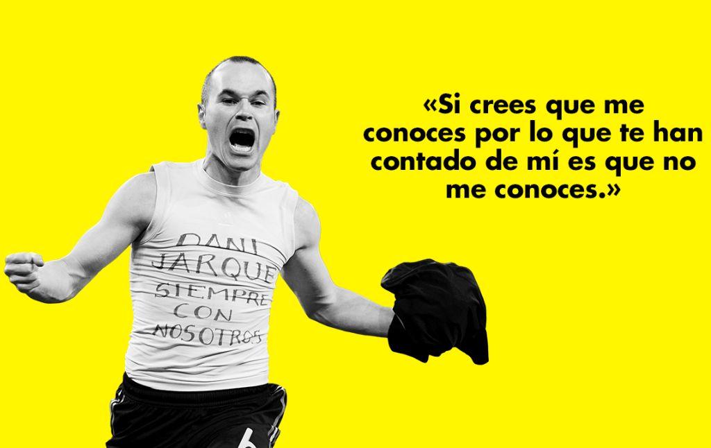 Malpaso publica las confesiones de Andrés Iniesta: