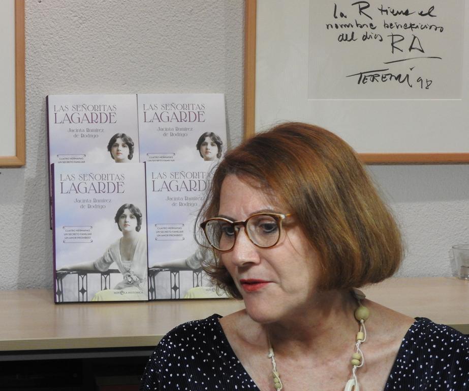 """La periodista Jacinta Ramírez de Rodrigo publica su nuevo libro, """"Las señoritas Lagarde"""""""