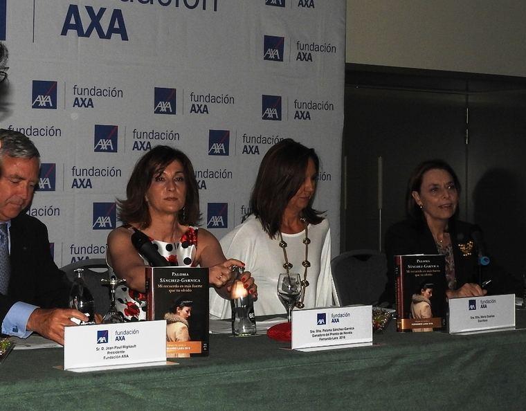 Jean Paul Rignault, Paloma Sánchez-Garnica- María Dueñas y Ana Gavín