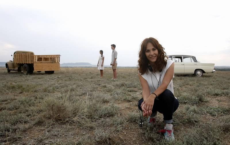 Paula Ortíz y su película