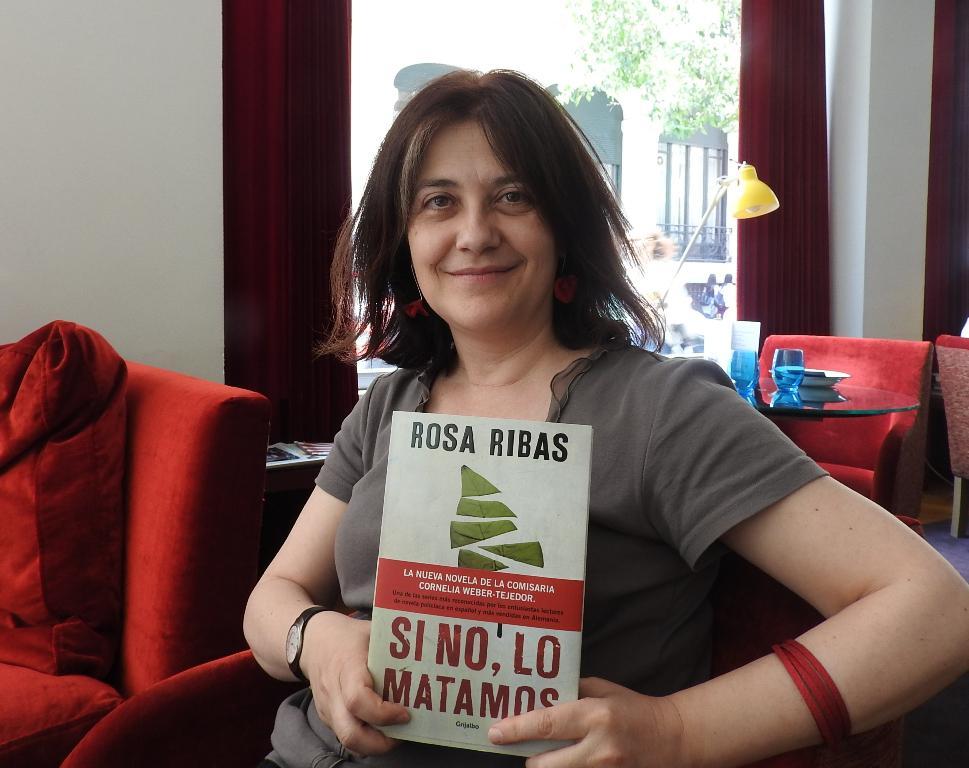 "Entrevista a Rosa Ribas, autora de ""Si no, lo matamos"""