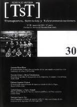 Publicado el número 30 de TST - Transportes, Servicios y Telecomunicaciones