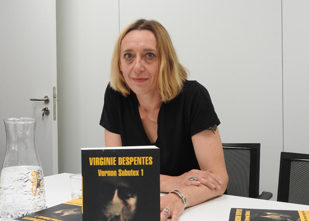 """Entrevista a Virginie Despentes, autora de """"Vernon Subutex 1"""""""