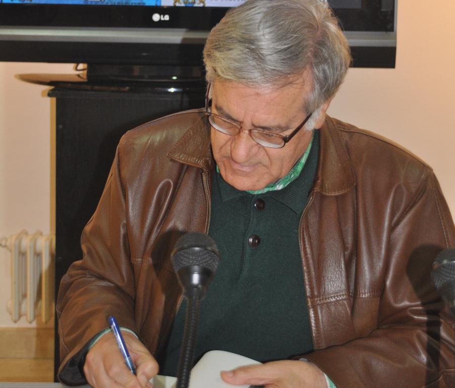 """Entrevista Juan Ignacio Villarías, autor de """"Bula de difuntos"""""""