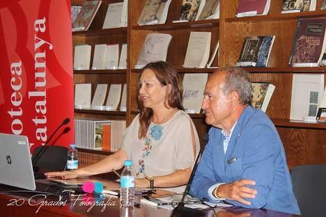 """Antonietta Zeni ha presentado en la Biblioteca Nacional de Cataluña su segunda novela, """"Quizás dejaré de decir quizás"""", de la editorial La Equilibrista"""