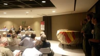 Presentación del libro 'Historia de la Legión española'