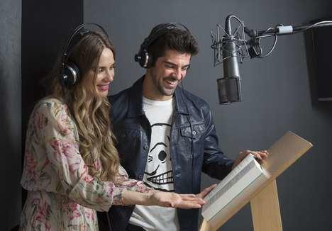 Vanesa Romero y Miguel Ángel Muñoz ponen voz al audiolibro de