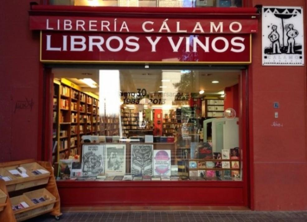 Librería Cálamo de Zaragoza galardonada con el Premio