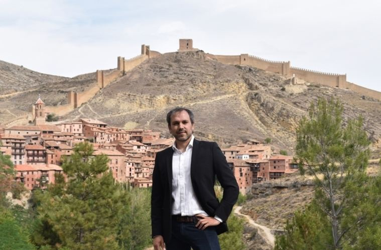 Luis Zueco en Albarracín