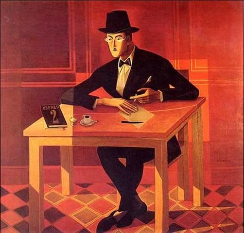 Fernando Pessoa, su estilográfica, un cigarrillo y una taza de café: la intrahistoria de su retrato más conocido