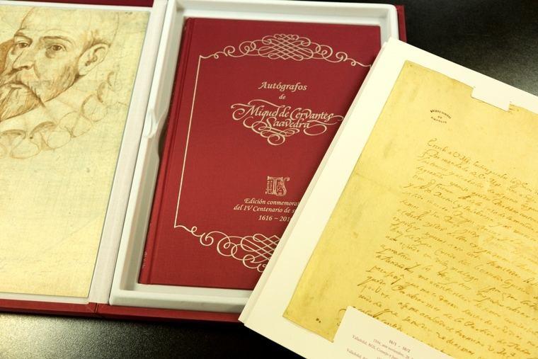 Autógrafos de Miguel de Cervantes Saavedra